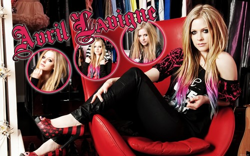 AvriL - goodbye-lullaby Wallpaper