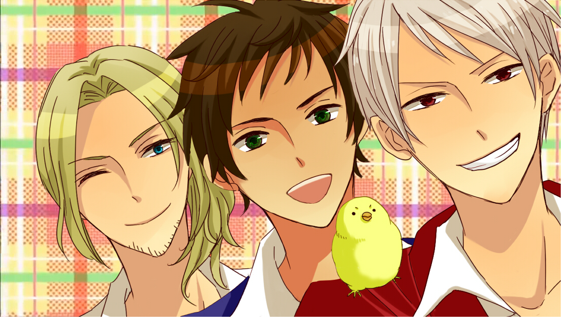 Hetalia images bad touch trio hd wallpaper and background photos