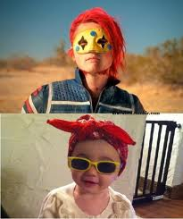 Gerard Way images Bandit Lee and her Daddy wallpaper and background photos