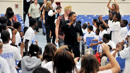 Be A Star Rally At John F. Kennedy Middle School