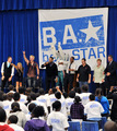 Be A 星, つ星 Rally At John F. Kennedy Middle School