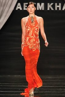 Blair's dress in the season 5 Finale / Spring 2012 collection by Naeem Khan