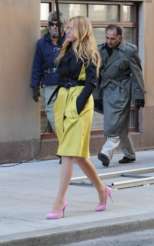 Blake on GG's set