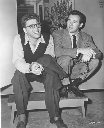 Burt Lancaster & Howard Duff
