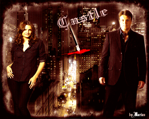 Caskett wallpaper containing a business suit, a suit, and a well dressed person titled Castle/Beckett
