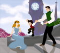 Cendrillon and Prince Charming Family