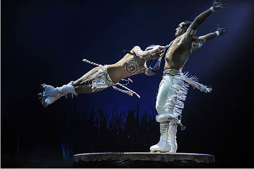 Cirque du Soleil: TOTEM roller skates