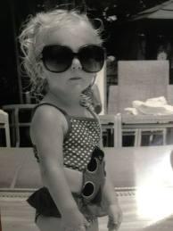 Clara in Sunglasses