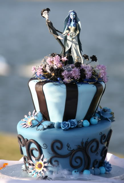 wedding cake toppers Nightmare Before Christmas Wedding Cake Toppers