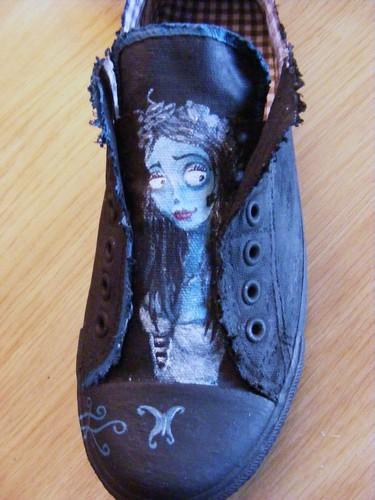 Corpse Bride Shoe