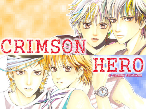 Manga wallpaper containing anime called Crimson Hero