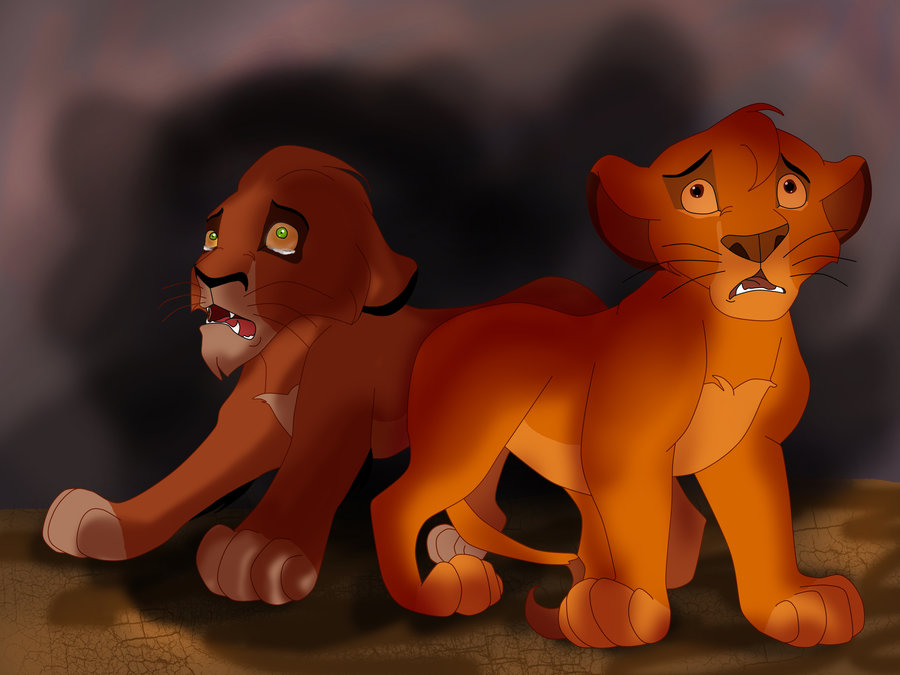 The lion king mufasa and scar - photo#18