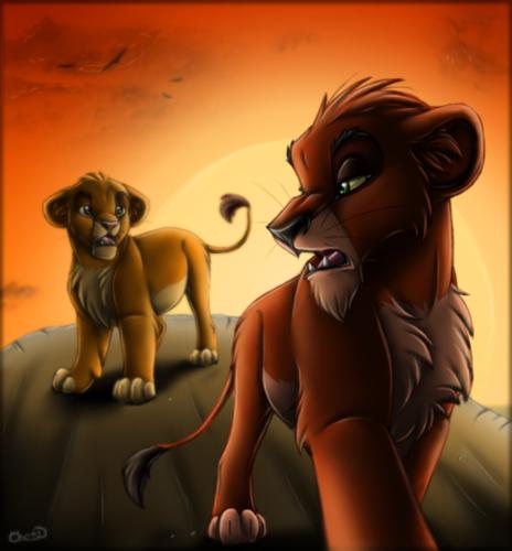 Cub Mufasa & Scar
