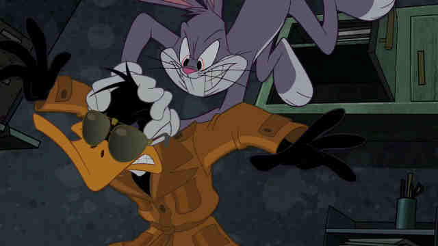 Daffy Duck And Bugs Bunny Show Daffy Duck (The Looney...
