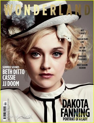 Dakota Fanning Covers 'Wonderland'