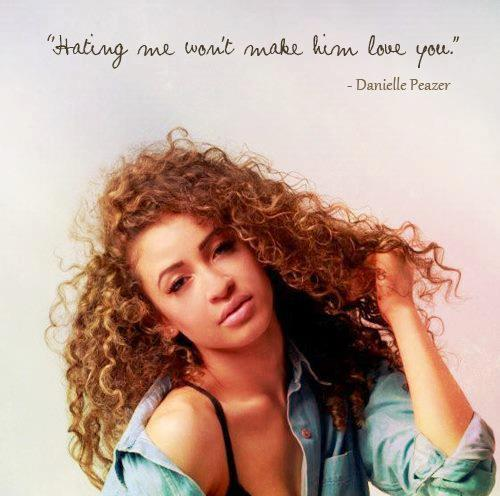 Danielle Peazer wallpaper possibly containing a portrait titled Danielle♥