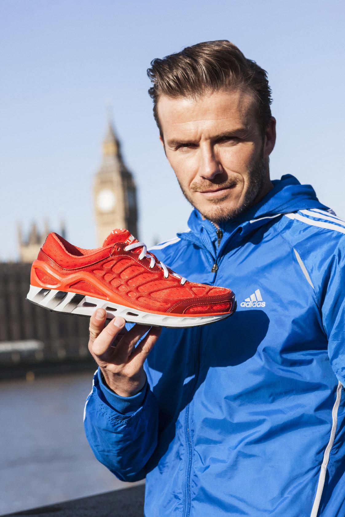 online retailer ab69e 41a4a David Beckham: Adidas ClimaCool Seduction - 2012 - David ...