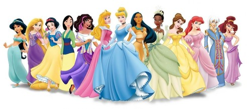 Princesses Disney fond d'écran titled Walt Disney images - The Disney Princesses