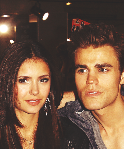 Paul Wesley and Nina Dobrev images Dobsley