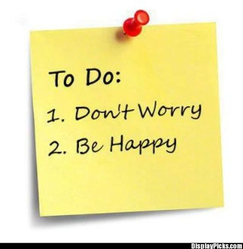 don t worry be happy Don't worry, be happy is a popular worldwide hit song by musician bobby  mcferrin released in september 1988, it became the first a cappella song to  reach.