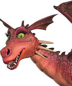Shrek achtergrond probably with a triceratops titled Dragoness (Shrek)