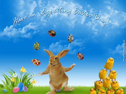 Happy Easter All My peminat-peminat kertas dinding entitled Easter