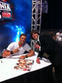 Edge at Wrestlemania Axxess