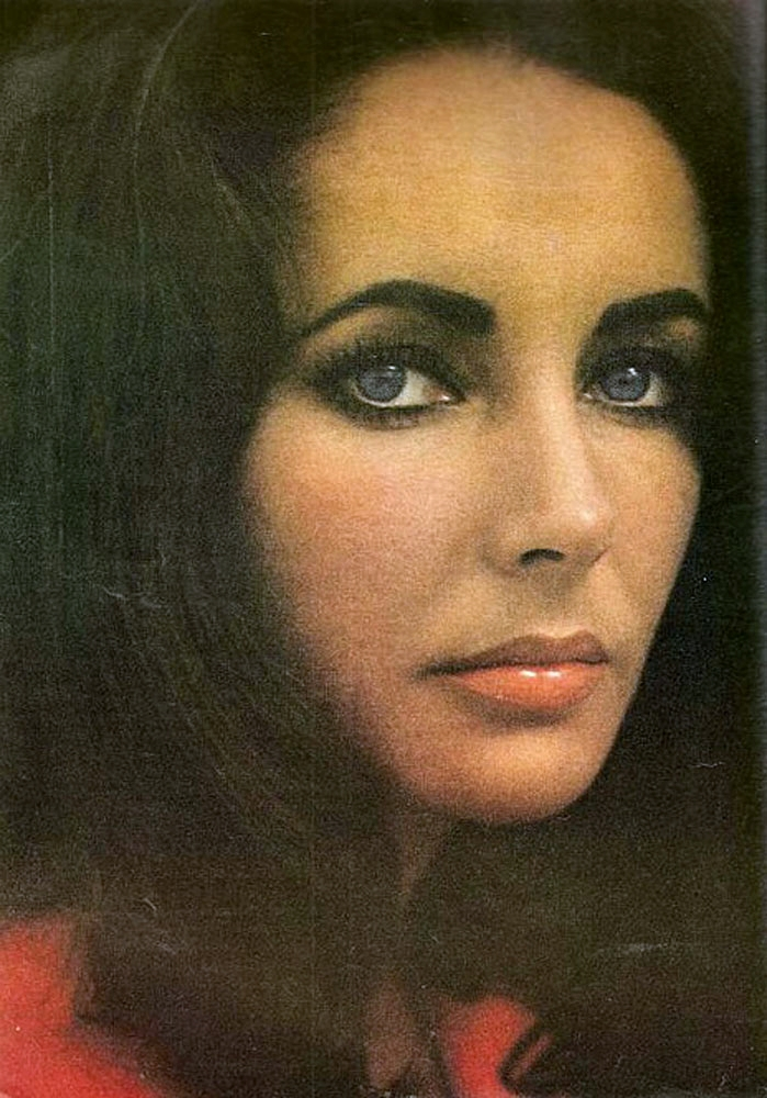Elizabeth taylor eyebrows real