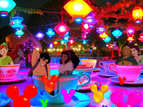 Fun at Disneyland