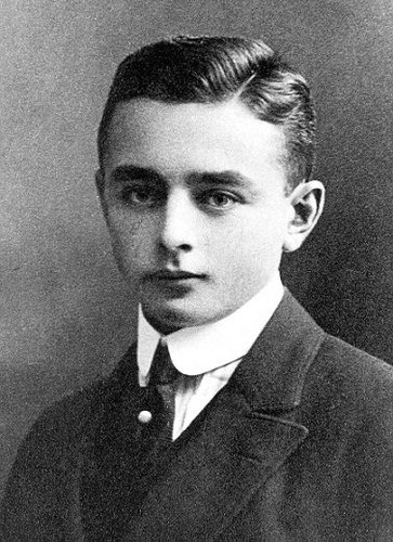 Georg Heym (30 October 1887– 16 January 1912)