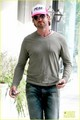 Gerard Butler: Pink 'Peak' Cap! - gerard-butler photo