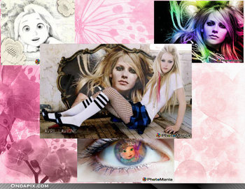Go ahead and try to get over it for: Avril Lavigne and Tangled - tangled Photo