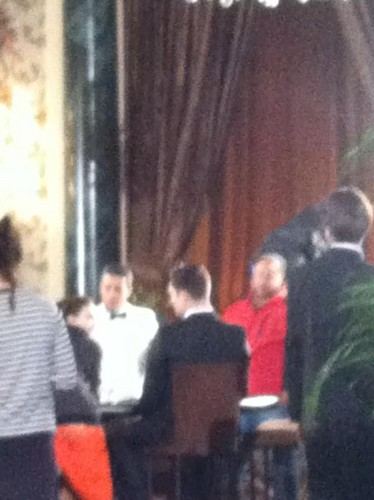 Gossip Girl Set - March 30, 2012 !!!