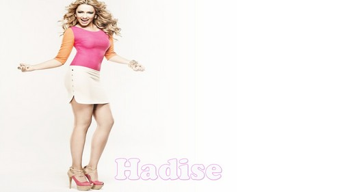 Hadise wallpaper possibly containing a chemise, a chemise, and a cocktail dress titled HadiSe