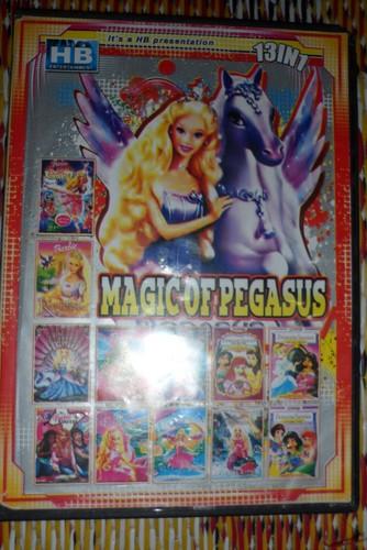 こんにちは I got this DVD and It has 13 in it cool !
