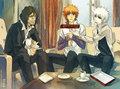 Hichigo, Ichigo, and Zangetsu