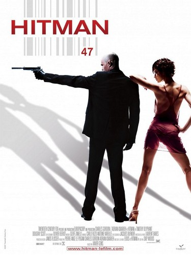 Hitman Movie Posters