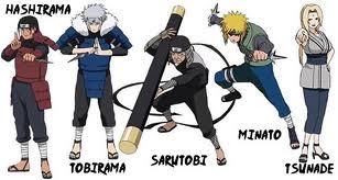 Naruto Shippuuden Hintergrund called Hokage