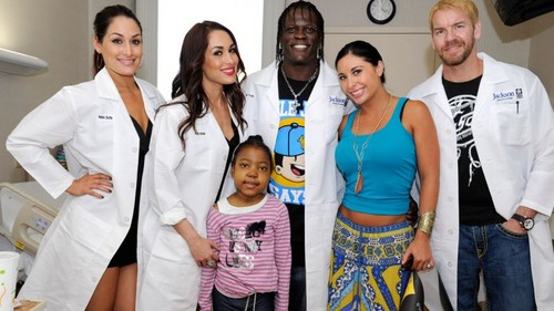 Holtz Children's Hospital Visit