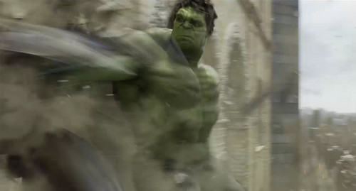 The Avengers wallpaper called Hulk smash Alien