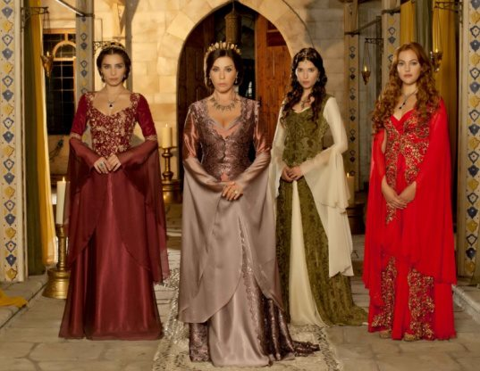 Hurrem Sultan Dress Red