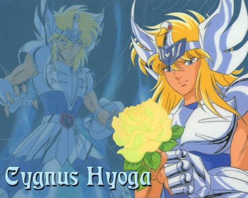 Saint Seiya (Knights of the Zodiac) fondo de pantalla with anime called Hyoga