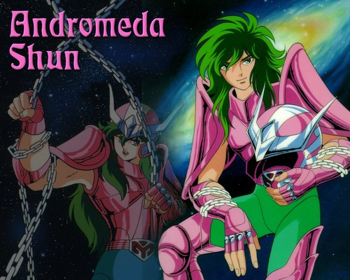 Saint Seiya (Knights of the Zodiac) kertas dinding with Anime called Shun