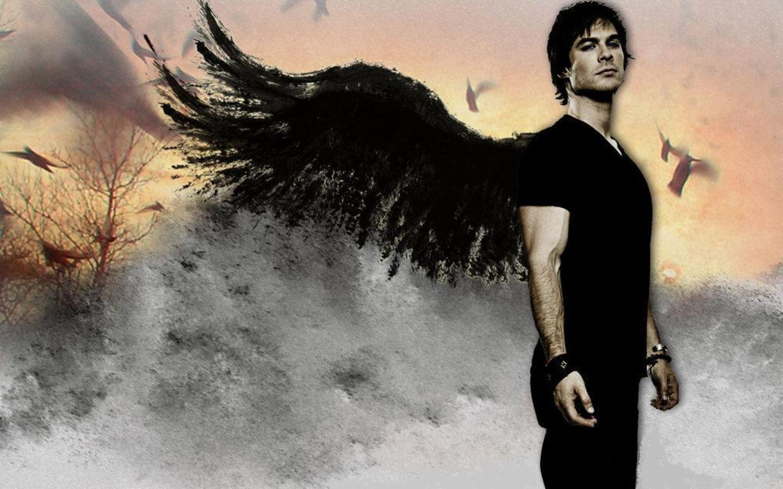 Vampire Diaries – Fernsehserie Hintergrund titled Ian Somerhalder