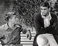 "James with Martin Milner ""The Stu Erwin Show"" ""Troubles with Father"" - james-dean photo"