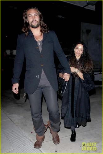 Jason Momoa & Lisa Bonet: encontro, data Night at Eveleigh!