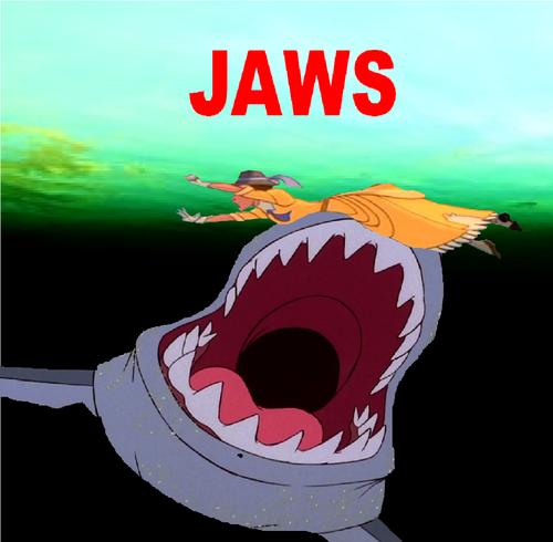 Jaws Disney Style