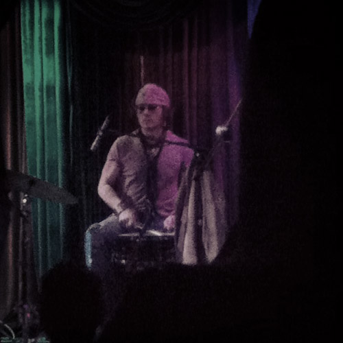 Johnny playing drums at The Mint in Los Angeles with Bill Carter, Bruce Witkin and Mike Thompson