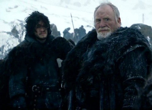 Jon and Mormont - jon-snow Photo