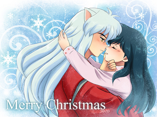 Kagome and Inuyasha (anime couple)